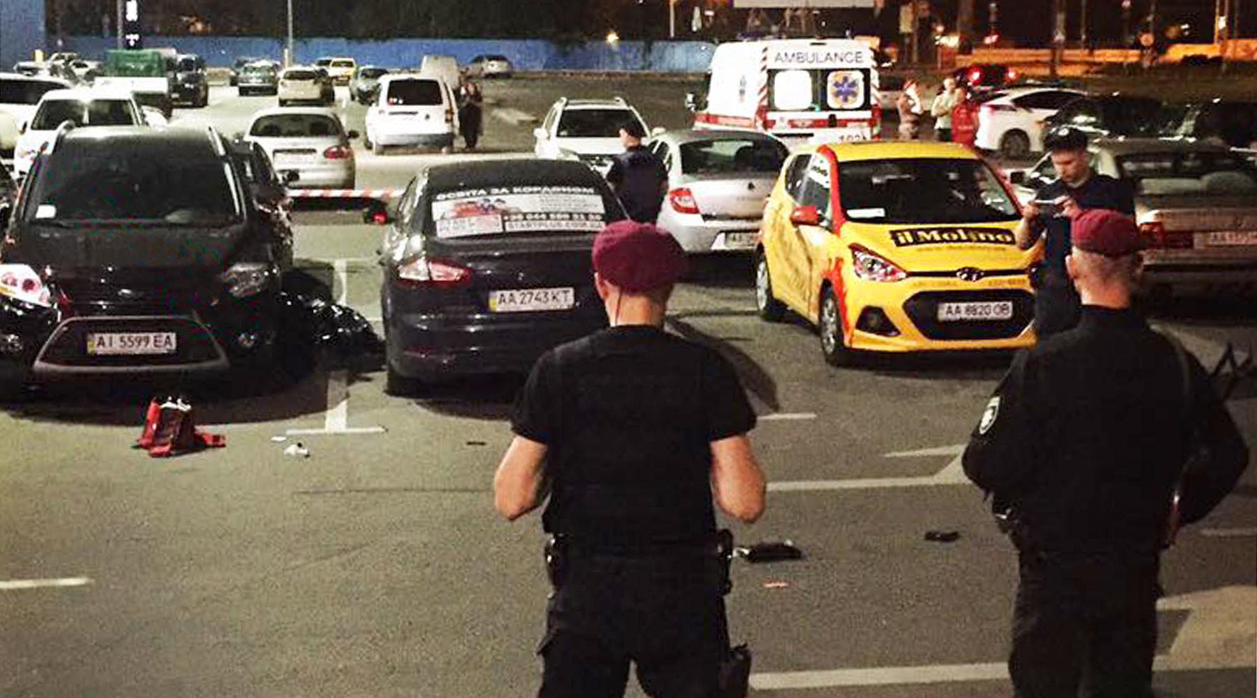 в Киеве расстреляли разыскиваемого за убийство россиянина»