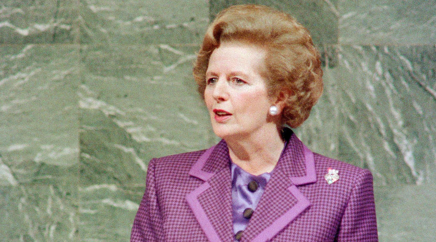 как Маргарет Тэтчер собиралась применить оружие массового уничтожения против Ирака»