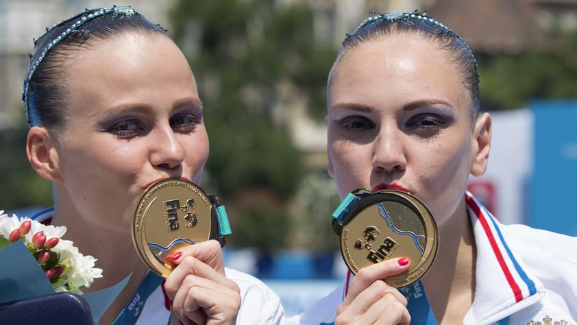 «Пятый элемент»: российские синхронистки одержали очередную победу на чемпионате мира