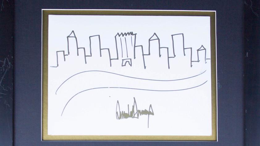 Обнажённый Буш и шаржи на сенаторов: что рисуют президенты и за сколько это продаётся