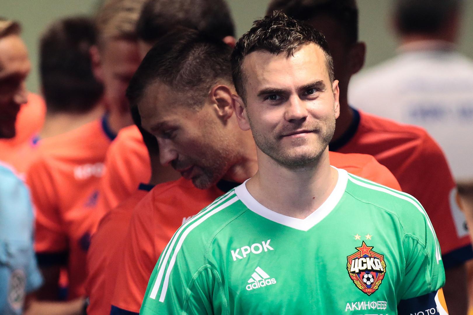Назло рекордам: ЦСКА обыграл греческий АЕК в матче Лиги чемпионов, а Акинфеев прервал неудачную серию