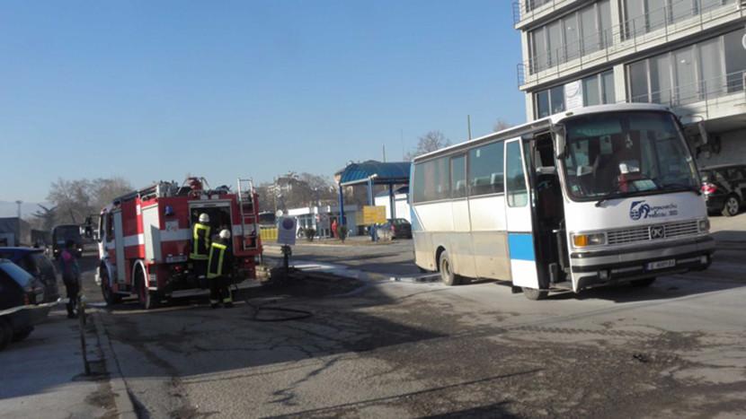 В Болгарии загорелся автобус с российскими туристами