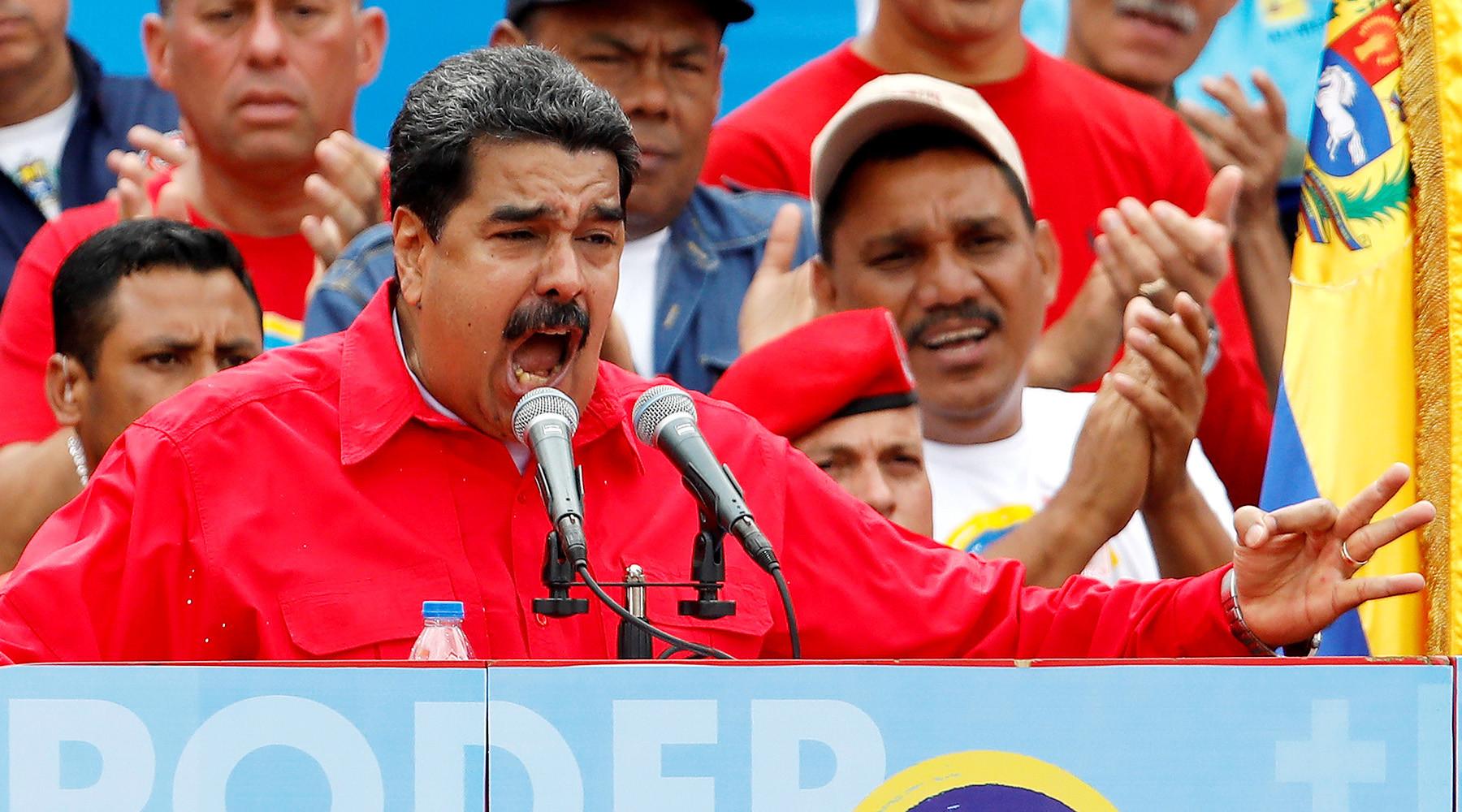 Конфликт между президентом и парламентом уничтожает Венесуэлу