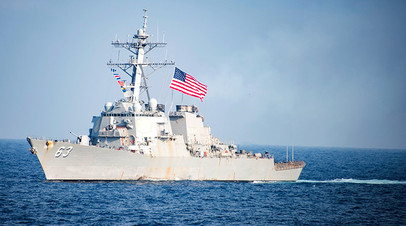 Эсминец USS Stethem