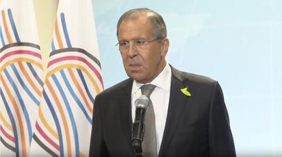 «Договорились о вполне конкретных вещах»: Лавров о встрече Путина и Трампа
