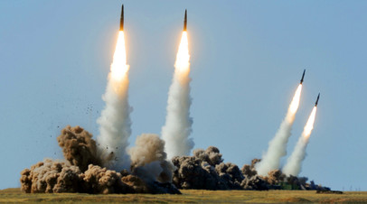 Тактическая баллистическая ракетная система «Искандер», испытательный полигон Капустин Яр