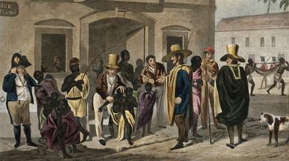 Борьба негров рабов за свободу