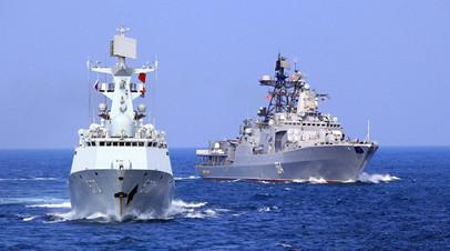 Учения «Морское взаимодействие-2016», Южный Китай