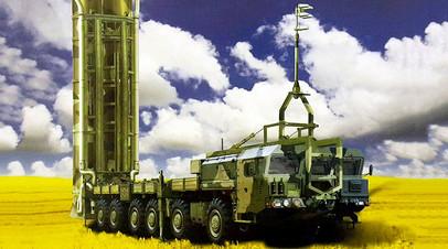 Макет пусковой установки ЗРС С-500