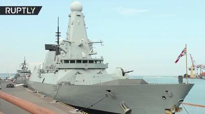Корабли НАТО прибыли в порт Одессы
