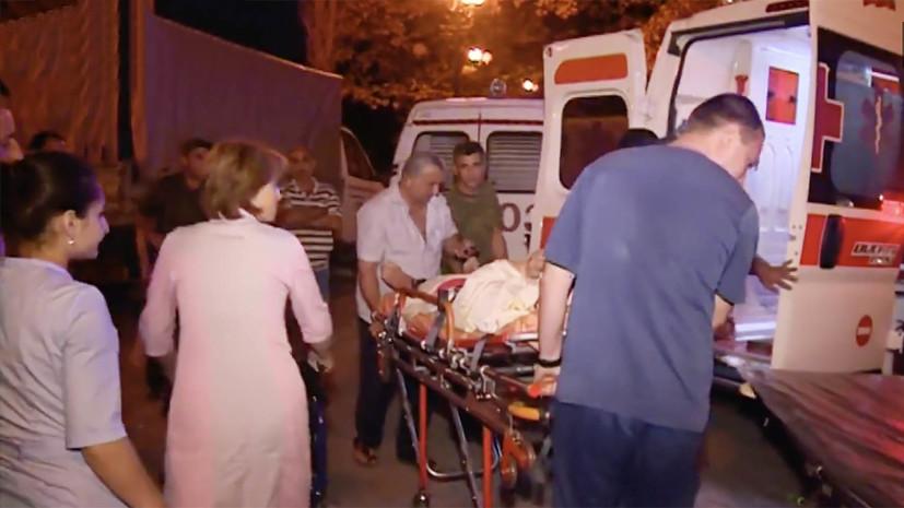 При взрыве в Абхазии погибли две россиянки