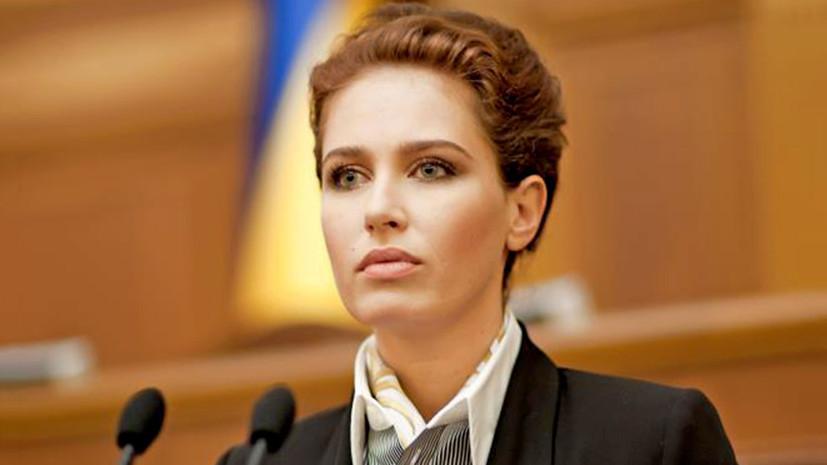 в ДТП погибла экс-депутат Верховной Рады Ирина Бережная»