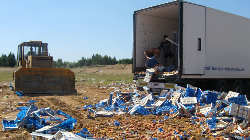 три года назад Россия ввела продуктовые контрсанкции против стран Запада»
