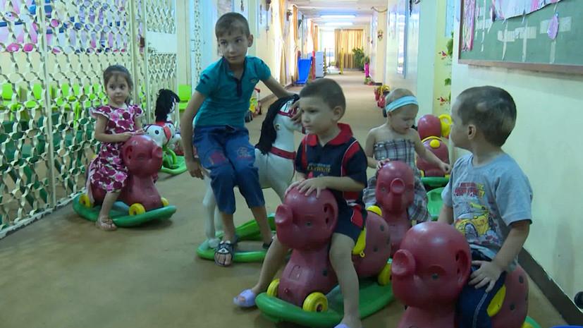 RT пообщался с российскими детьми, живущими в приютах Багдада»
