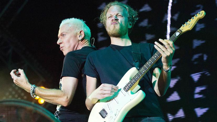 Немецкий телеканал поддержал солиста Scooter после концерта в Крыму