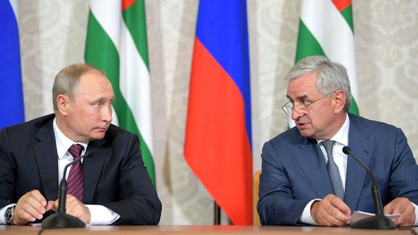 в НАТО осудили визит Путина в Абхазию»