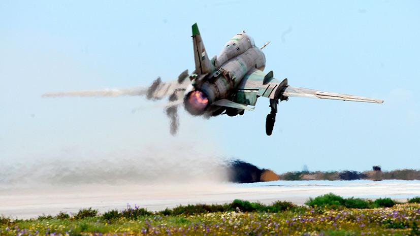 Прерванный полёт: сирийская оппозиция взяла на себя ответственность за крушение истребителя правительственных ВВС