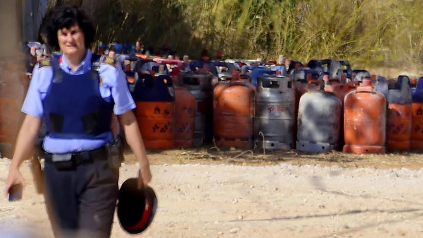 В Каталонии экстремисты готовили теракты с использованием «матери Сатаны» и газовых баллонов