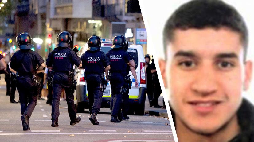 Полиция установила личность совершившего наезд на пешеходов в Барселоне