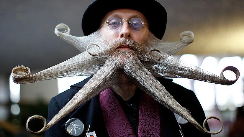 Барбер-тест RT: бороды, усы и бакенбарды