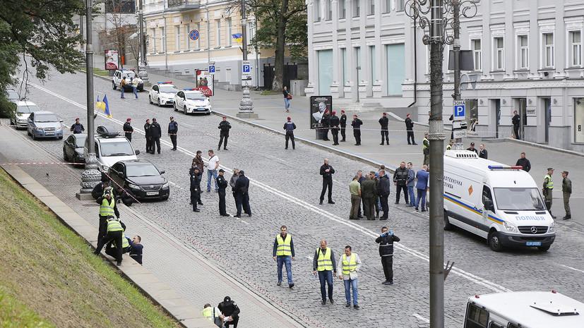 «Спланированный теракт» в День независимости Украины: при взрыве в Киеве пострадали три человека