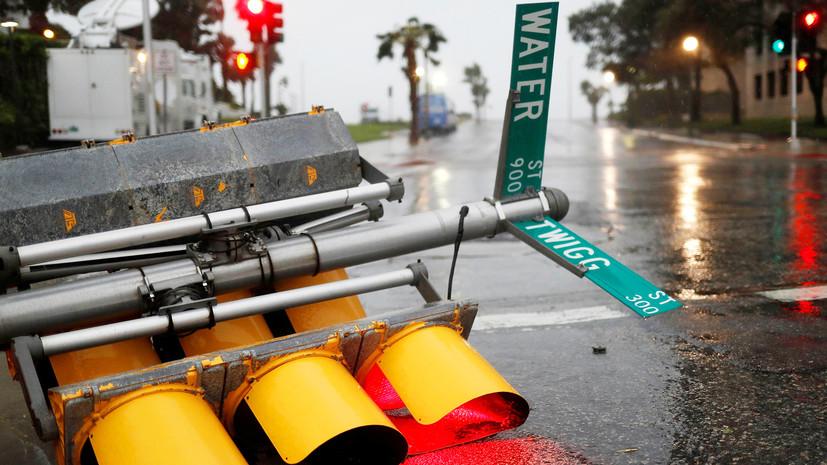 С ветерком: пользователи сети делятся фотографиями разрушительного урагана «Харви»