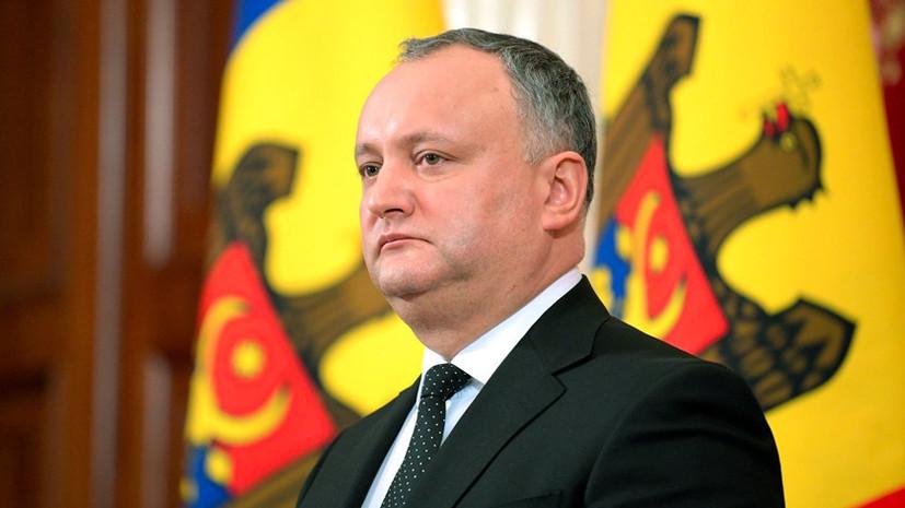 «Может пострадать всё общество»: Додон о вероятных последствиях для Молдавии от размещения войск НАТО на Днестре