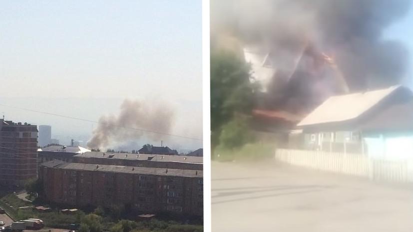 Источник: один человек погиб при пожаре в доме престарелых в Красноярске