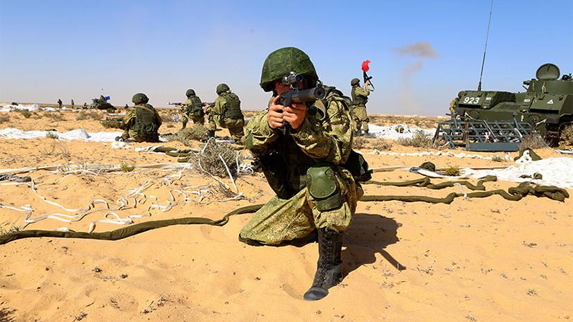 «Поражены возможностями ВДВ»: почему Египет заинтересован в десантных учениях с Россией