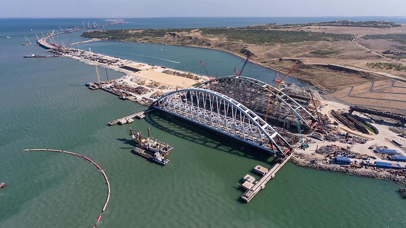 Операция «Арка»: в Керченском проливе приступили к подъёму секции Крымского моста