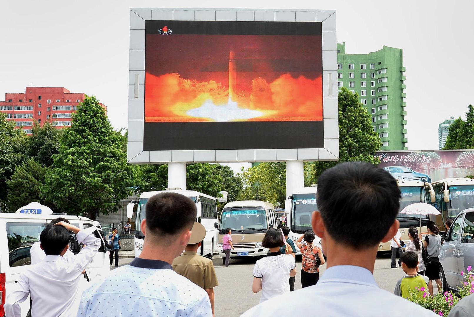 Ответственность закризис вокруг КНДР лежит наПхеньяне иВашингтоне— КНР