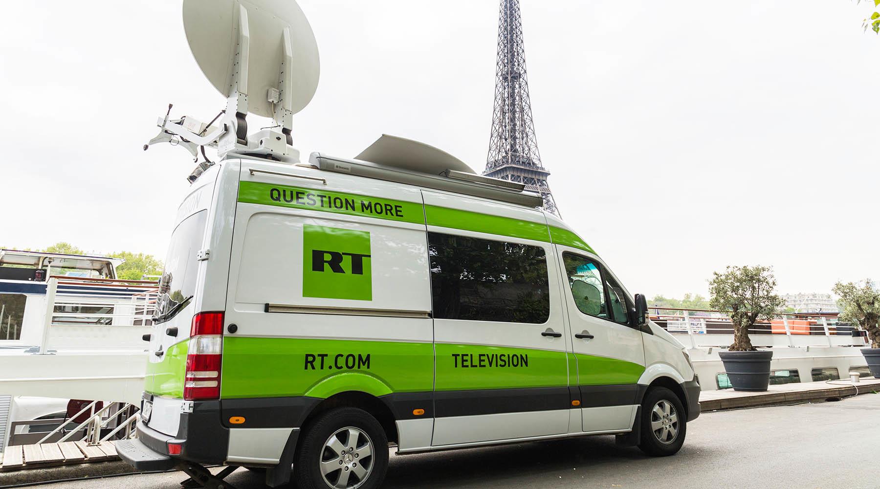 Как Макрон борется с RT и Sputnik