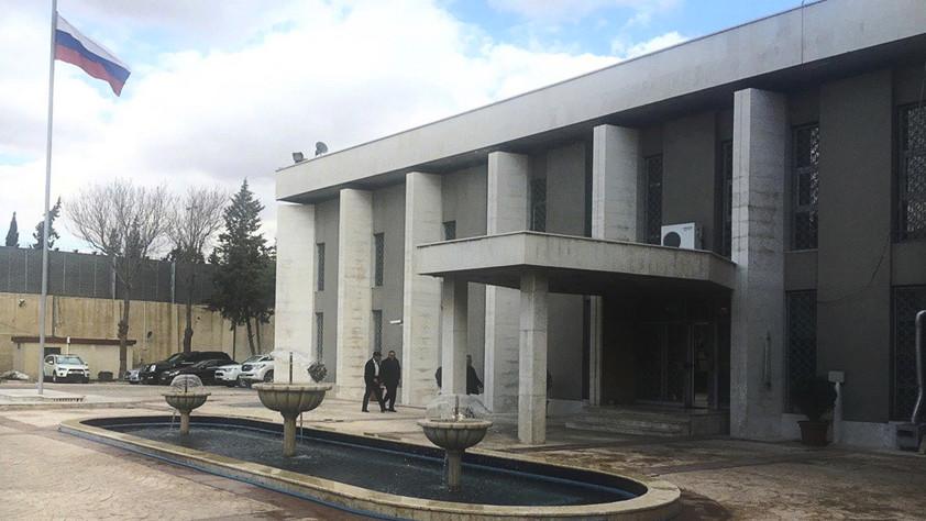 Российское посольство в Дамаске подверглось миномётному обстрелу