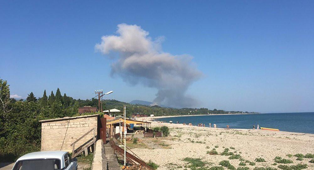 Посольство: при взрыве на складе боеприпасов в Абхазии пострадали 20 россиян