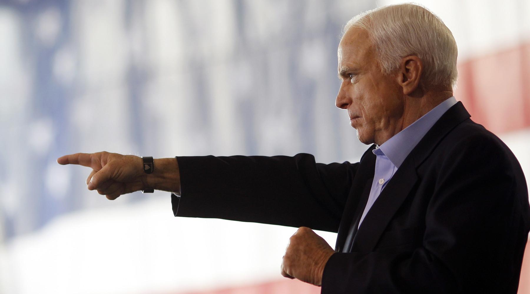 Маккейн назвал неуместной обеспокоенность Трампа законом о санкциях