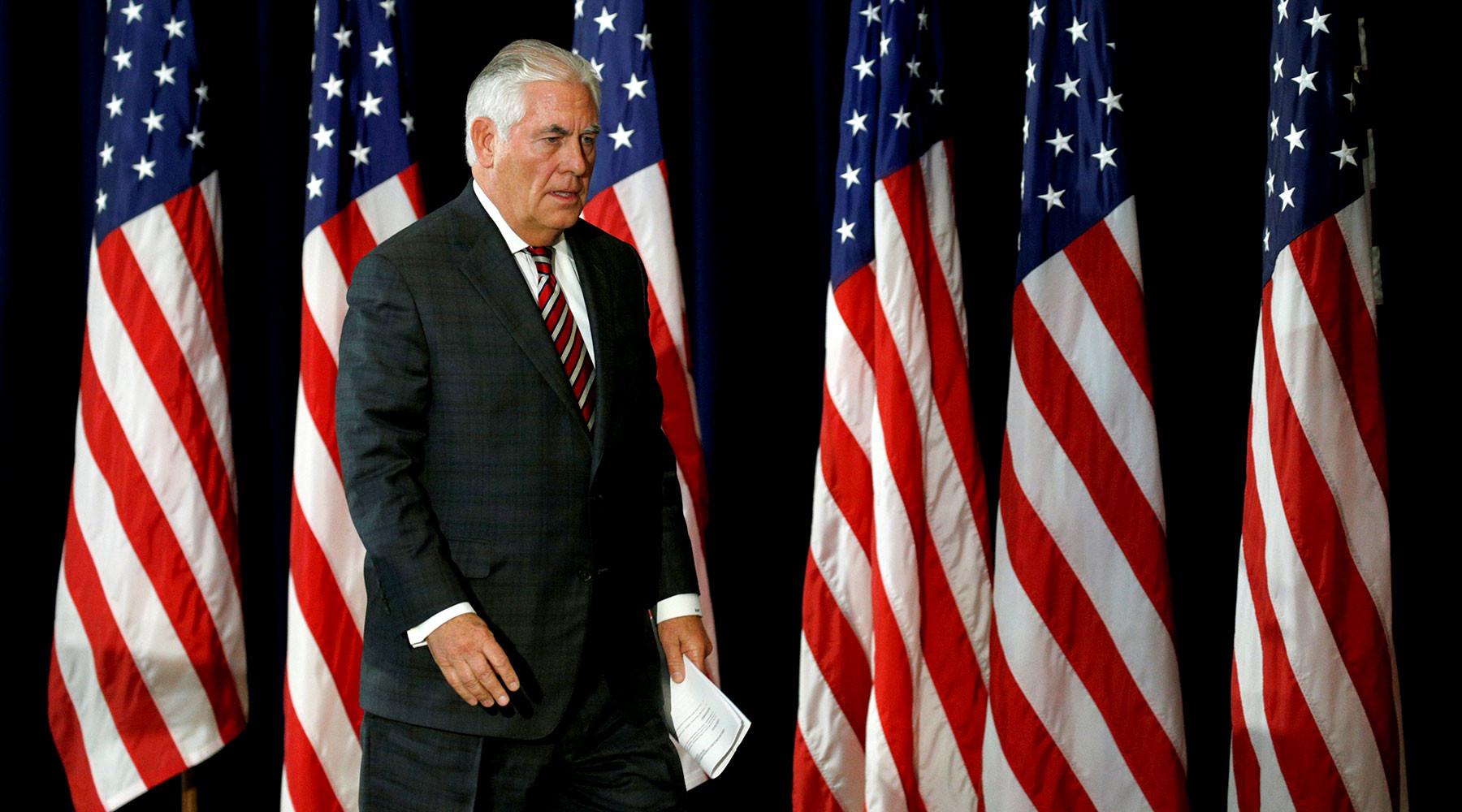 Тиллеросон сообщил, когда США примут меры после высылки дипломатов из России»