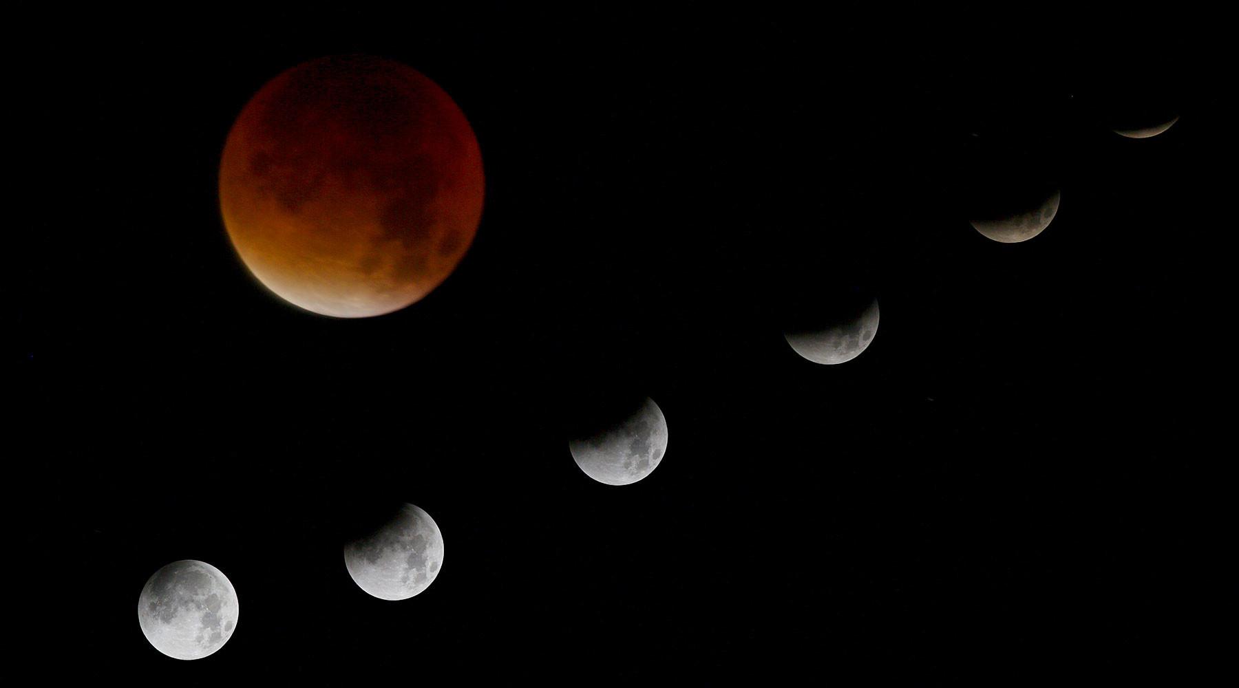 где и как посмотреть лунное затмение 7 августа»
