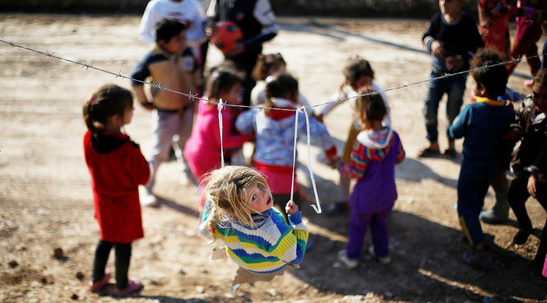 Как в приютах Ирака живут дети погибших россиян, воевавших в ИГИЛ