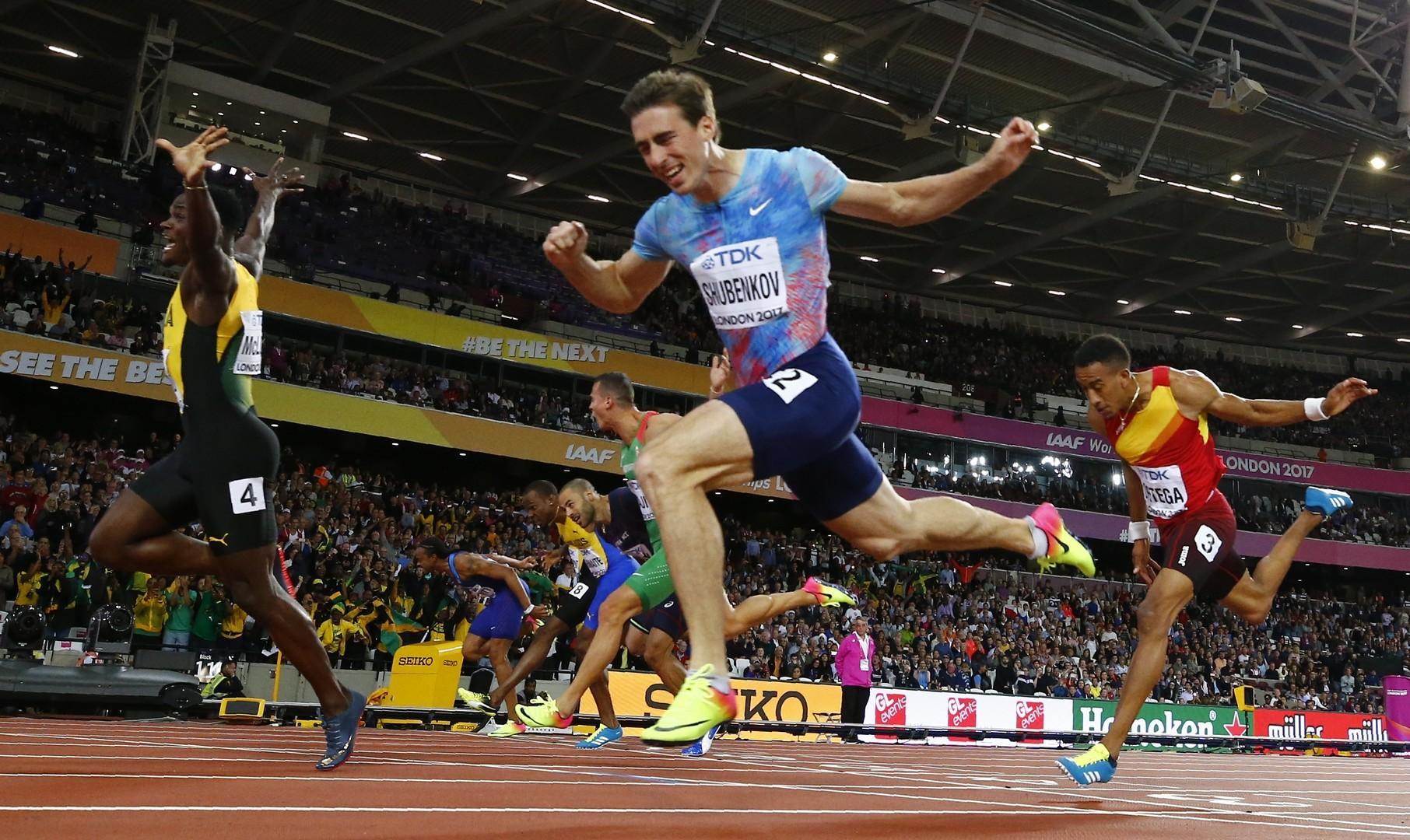 Серебро с золотым отливом: россиянин Шубенков стал вторым в беге на 110 метров с барьерами на ЧМ в Лондоне
