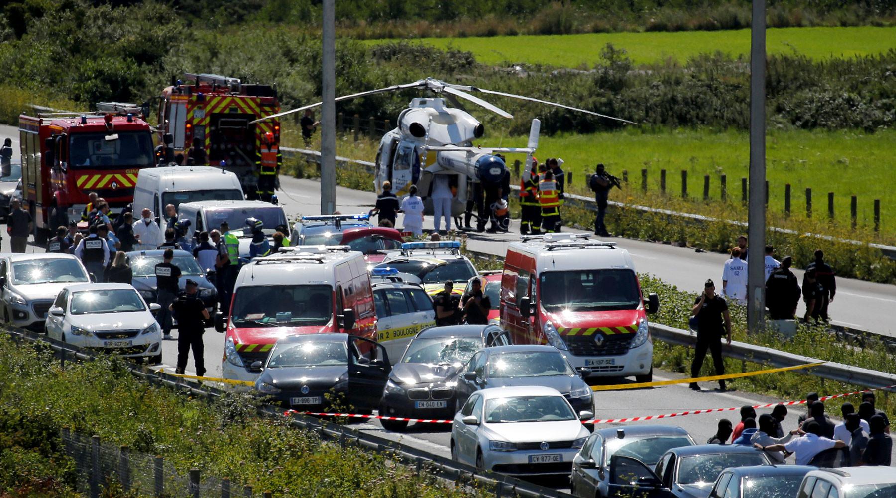 во Франции пойман подозреваемый в наезде на военных»