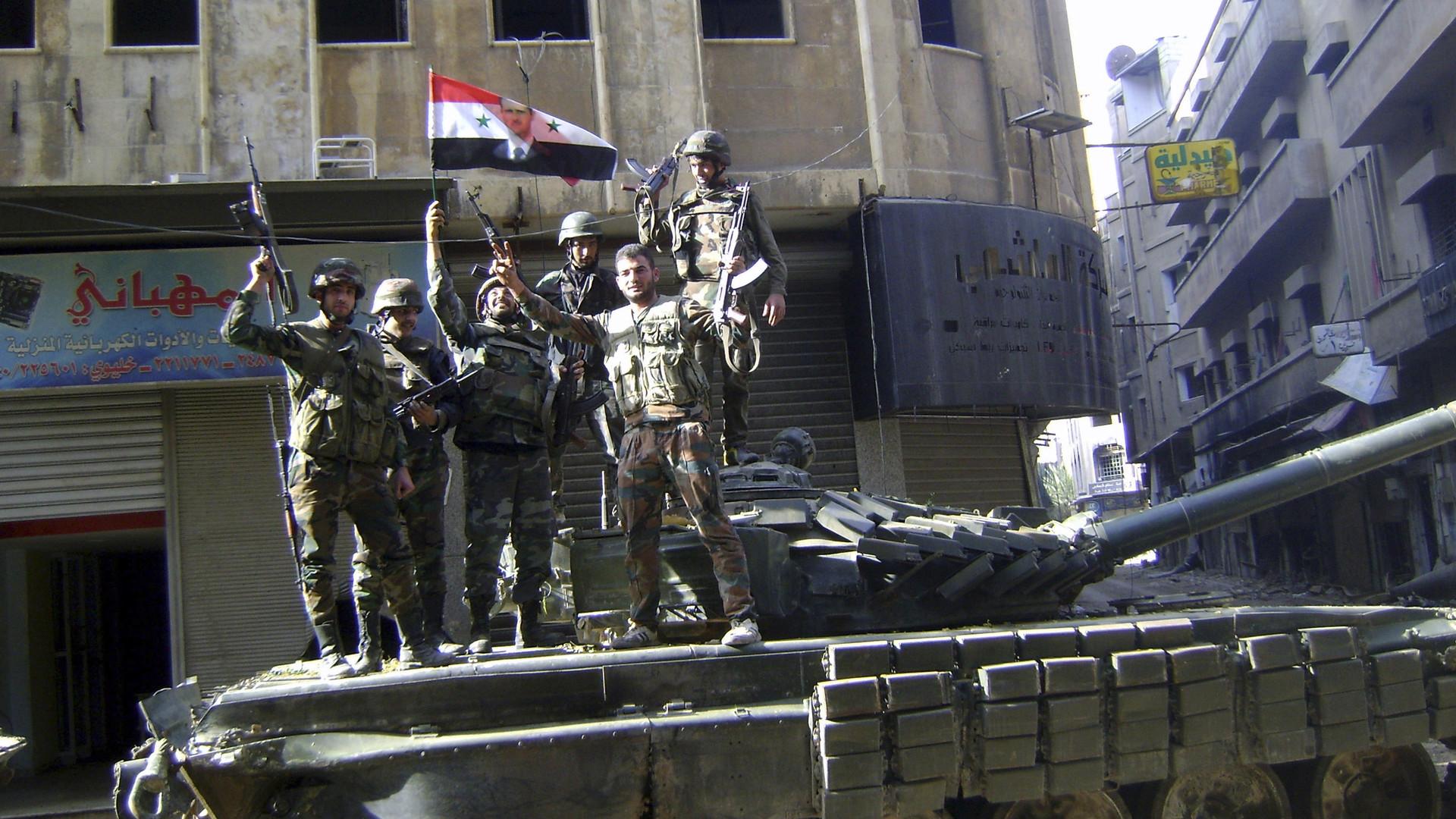 Битва за оазис близ Пальмиры: армия Сирии десантировалась в тыл ИГ в провинции Хомс