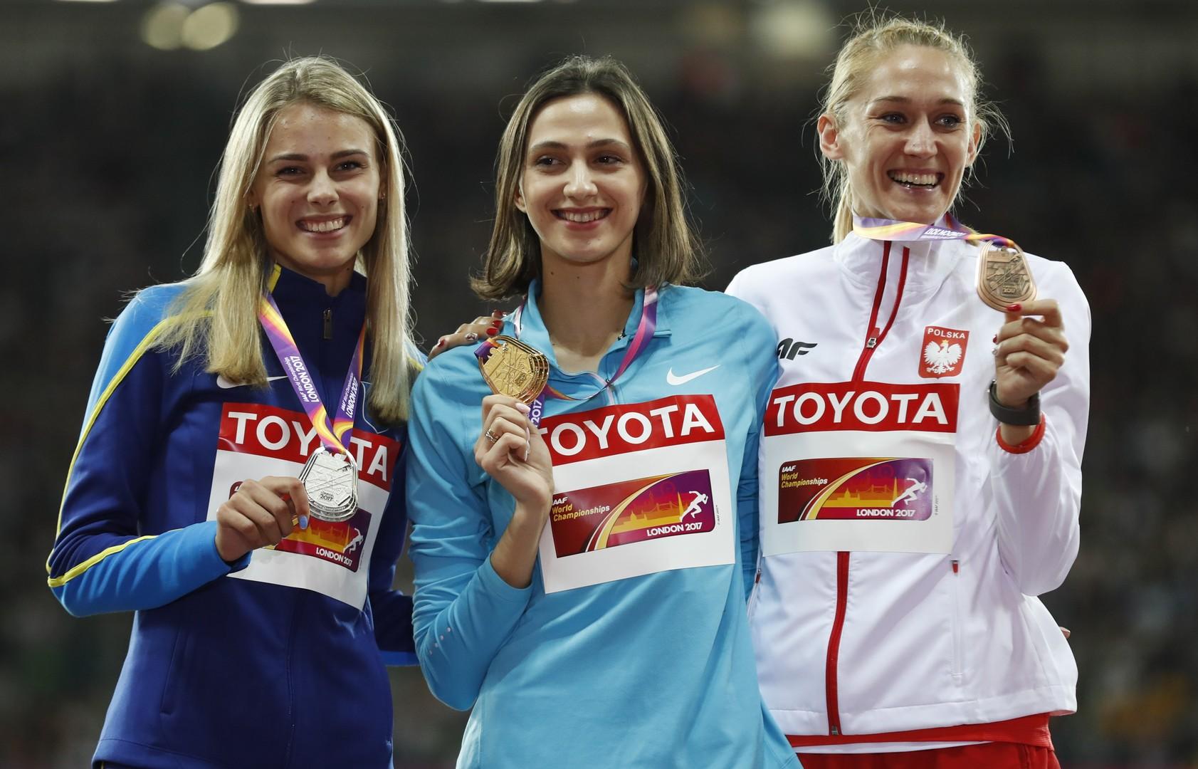 Русская спортсменка стала лучшей вмире попрыжкам ввысоту