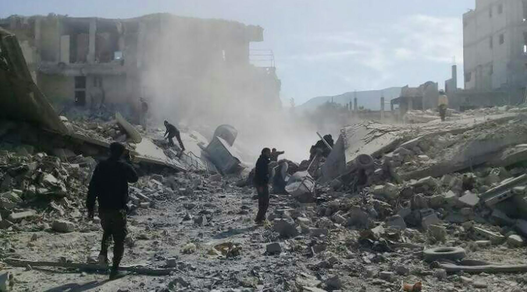 Сирия обвинила США и Великобританию в поставке химического оружия боевикам