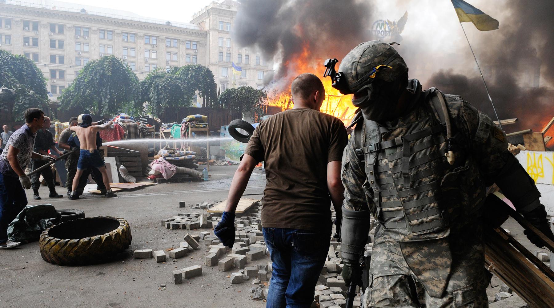 В России и на Украине резко отреагировали на глумление «Миротворца» над Глаголевой