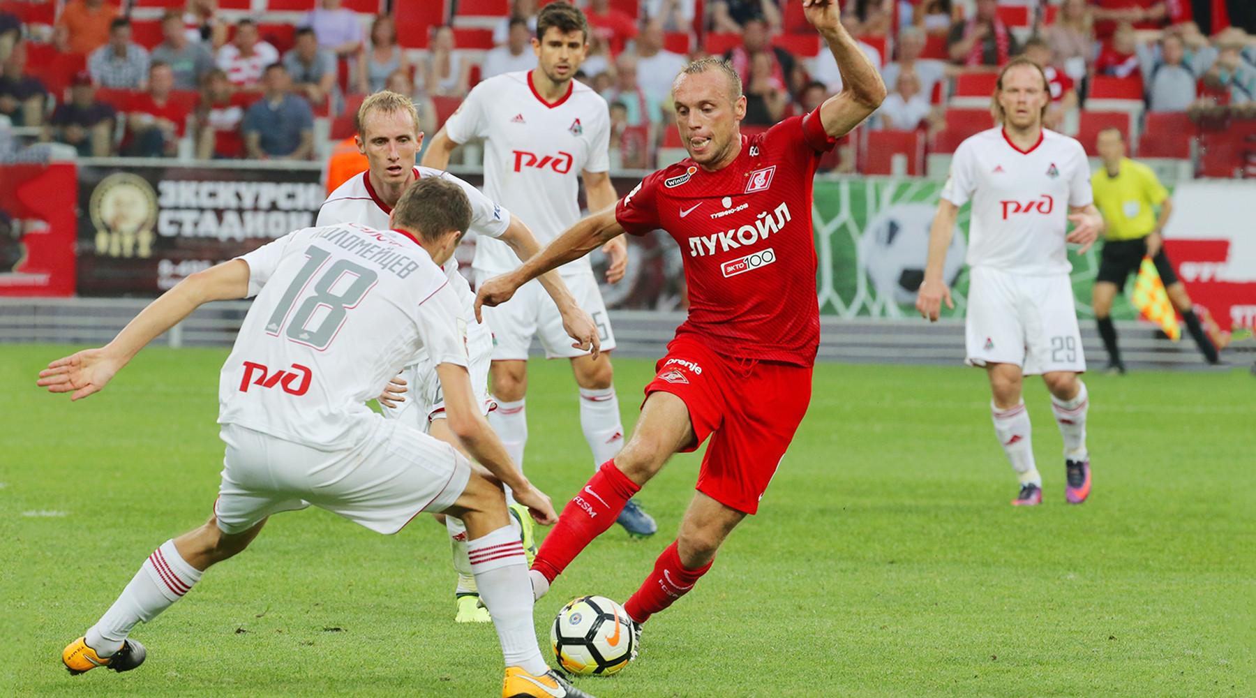 Как «Локомотив» перевернул дерби со «Спартаком»