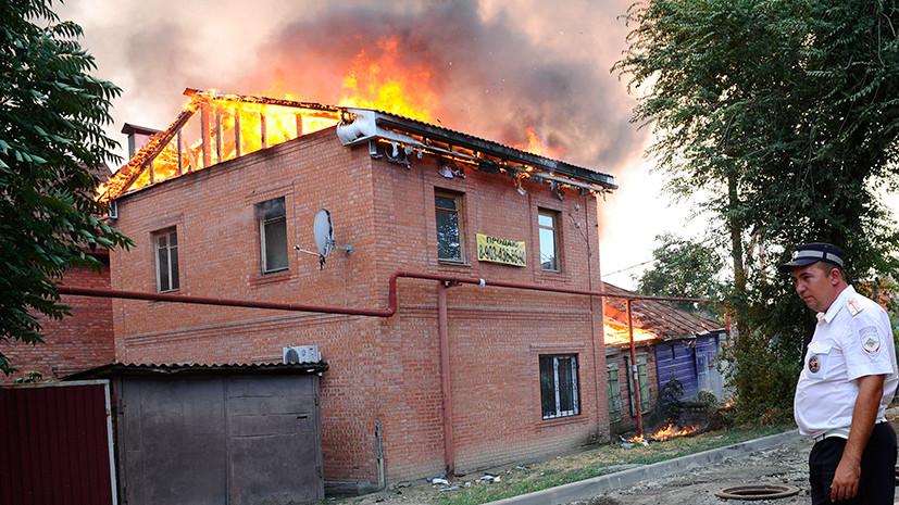 Мощный взрыв и массовая эвакуация: в Ростове-на-Дону из-за пожара введён режим ЧС