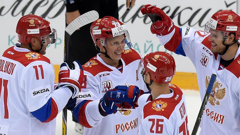Всё ради успеха сборной на Олимпиаде: в Санкт-Петербурге стартовал юбилейный чемпионат КХЛ