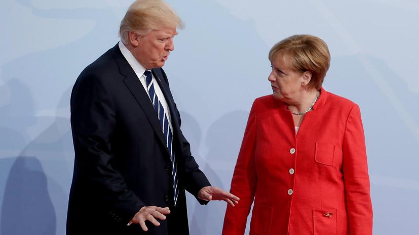 Манёвры Ангелы: Германия не будет «автоматически» поддерживать США в случае их войны с КНДР