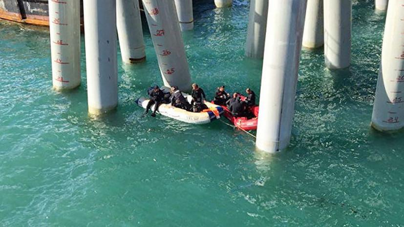 16 человек погибли при падении автобуса в море в Краснодарском крае