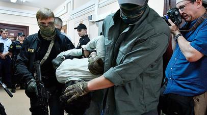 Подозреваемые в подготовке взрывов в Москве в Лефортовском суде